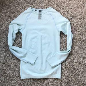 Gymshark vital seamless long sleeve shirt seafoam